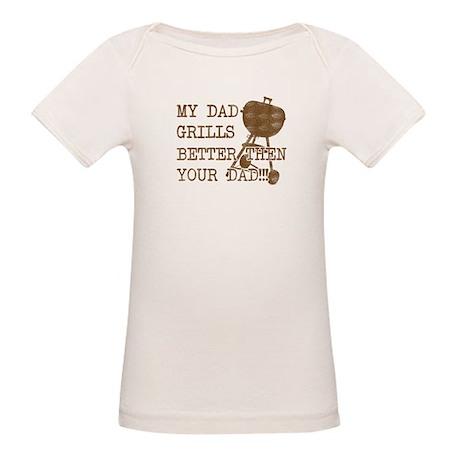 My Daddy's Better Organic Baby T-Shirt