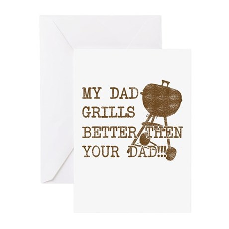 My Daddy's Better Greeting Cards (Pk of 10)