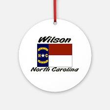 Wilson North Carolina Ornament (Round)