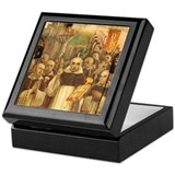 St vincent ferrer Square Keepsake Boxes
