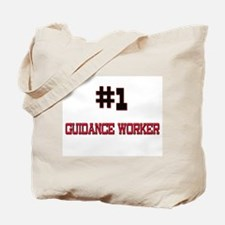 Number 1 GUIDANCE WORKER Tote Bag