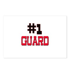 Number 1 GUARD Postcards (Package of 8)