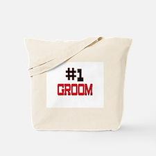 Number 1 GROOM Tote Bag