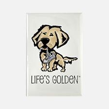 Life's Golden Shoe Rectangle Magnet