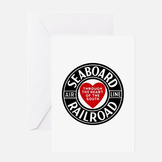 Seaboard RR Line Greeting Cards