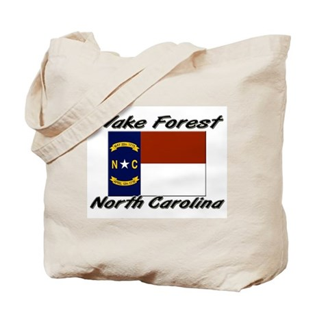 Wake Forest North Carolina Tote Bag