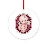 Razz Baby Ornament (Round)