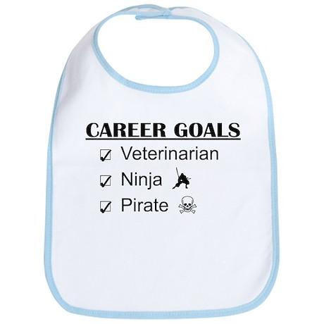 Vet Career Goals - Ninja Pirate Bib