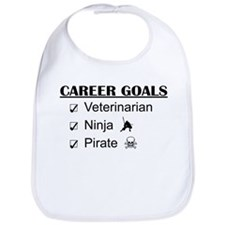 Vet Career Goals - Ninja Pirate Bib