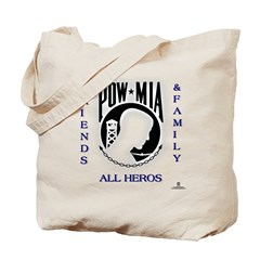 POW Friends and Family Tote Bag