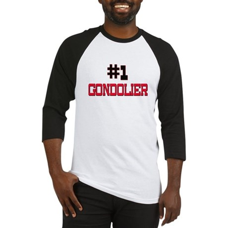 Number 1 GONDOLIER Baseball Jersey