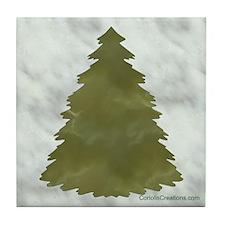 Marbled Tree - Tile Coaster