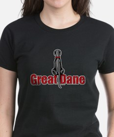 Black Great Dane UC Sit Tee