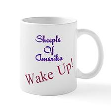 Sheeple Of Amerika WAKE UP! Mug