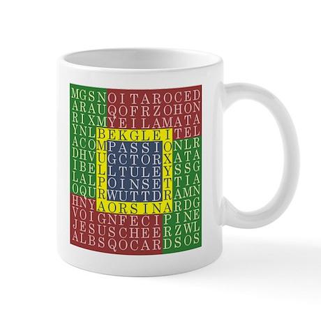 Christmas Word Search - Mug