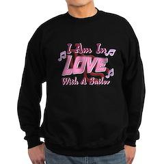Love with a Sailor Sweatshirt (dark)