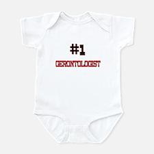 Number 1 GERONTOLOGIST Infant Bodysuit