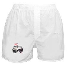 (Visit AllThingsPug.com) Pug Possessed Boxer Short
