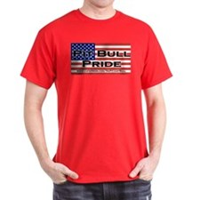 Pit Bull Pride Black T-Shirt