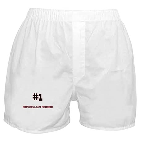 Number 1 GEOPHYSICAL DATA PROCESSOR Boxer Shorts