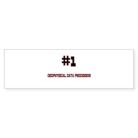 Number 1 GEOPHYSICAL DATA PROCESSOR Sticker (Bumpe