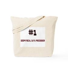 Number 1 GEOPHYSICAL DATA PROCESSOR Tote Bag