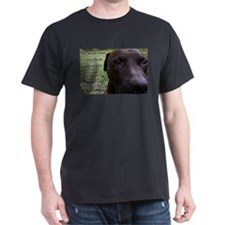 """""""Point of View"""" Black T-Shirt"""
