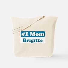 #1 Mom Brigitte Tote Bag