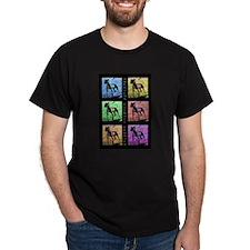 Color Bull 2 Black T-Shirt