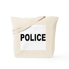 Police Department Tote Bag