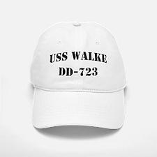 USS WALKE Baseball Baseball Cap
