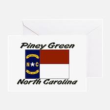 Piney Green North Carolina Greeting Card