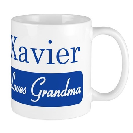 Xavier loves grandma Mug