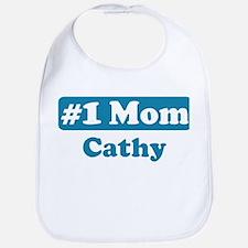 #1 Mom Cathy Bib