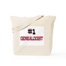 Number 1 GENEALOGIST Tote Bag
