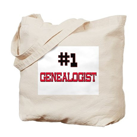 Number 1 GENEALOGIST Tote Bag