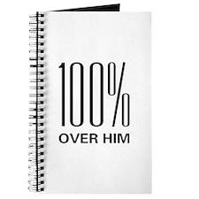 100 Percent Over Him Journal