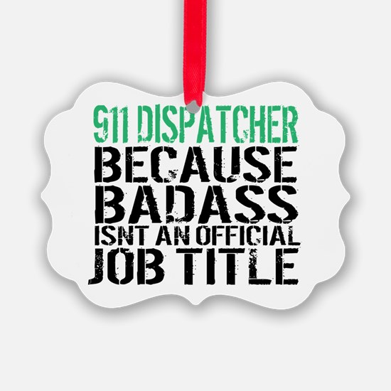 Funny Dispatchers Ornament
