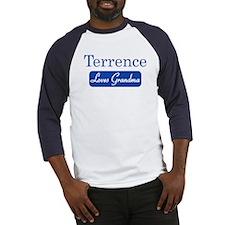 Terrence loves grandma Baseball Jersey