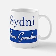 Sydni loves grandma Mug