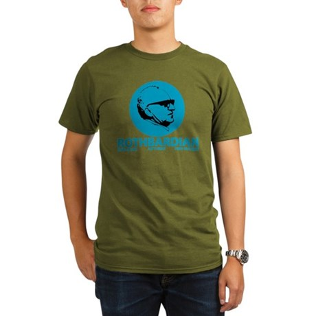 Rothbardian Blue Organic Men's T-Shirt (dark)