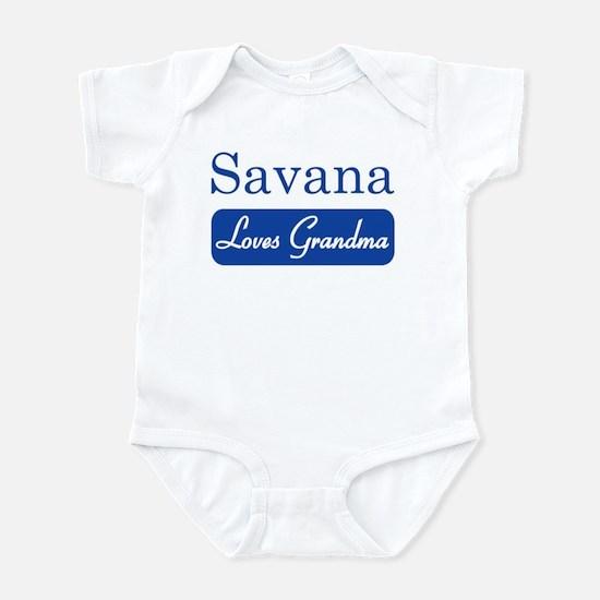 Savana loves grandma Infant Bodysuit