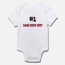 Number 1 GAME SHOW HOST Infant Bodysuit