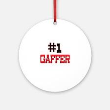 Number 1 GAFFER Ornament (Round)