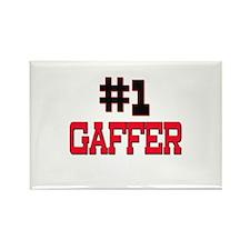 Number 1 GAFFER Rectangle Magnet