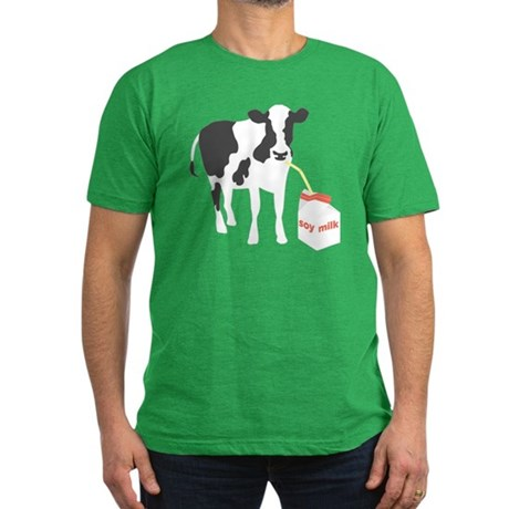soy milk drinking cow T-Shirt