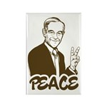 Ron Paul Peace Rectangle Magnet (10 pack)
