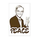 Ron Paul Peace Mini Poster Print