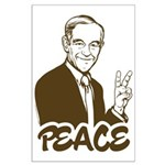 Ron Paul Peace Large Poster