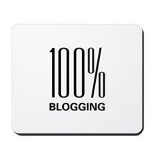 100 Percent Blogging Mousepad